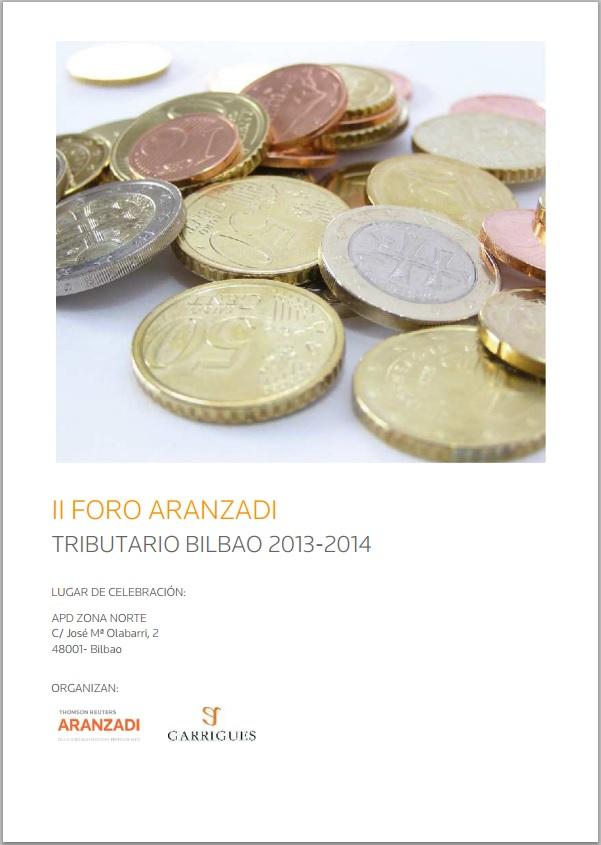 II Foro Aranzadi - Tributario Bilbao