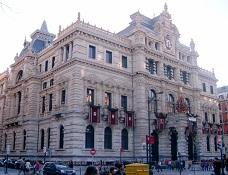 Palacio de la Diputación Foral de Bizkaia.