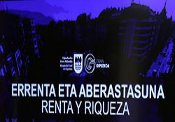 Gipuzkoa: Inicio de campaña de renta y riqueza 2016